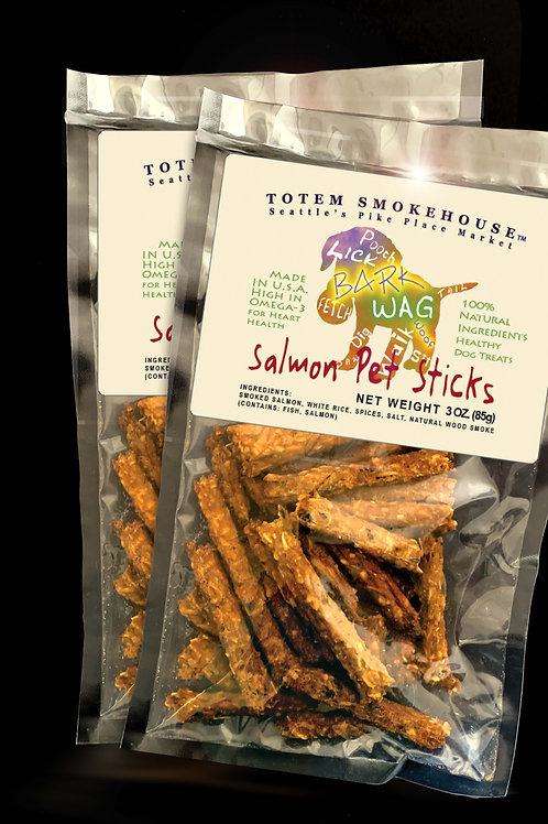 2-3 oz Wild Salmon Pet Sticks