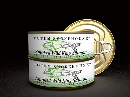 3-3 oz Smoked Wild King Salmon