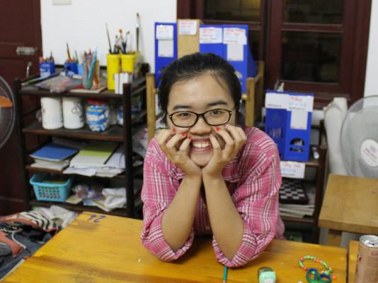 Portrait de Khuê, notre tutrice passionnée