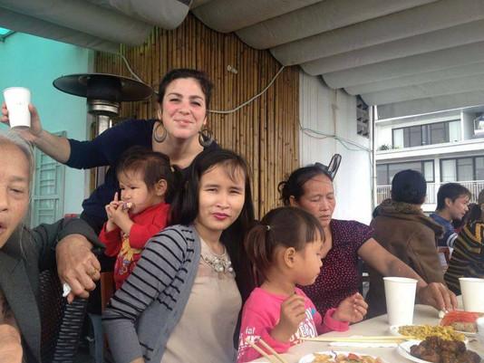 Bữa ăn gia đình tại Pépé la Poule