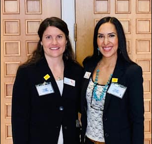 Dr. Juliette Sweet, ND with Dr. Jessyca Franco-Chavez, ND after SB 135 passed the NM Senate vote