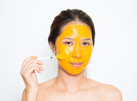 Glowing Turmeric Face Mask