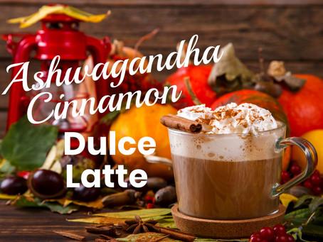 Ashwagandha Cinnamon Dolce Latte