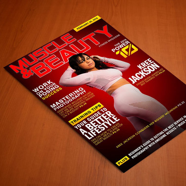 Muscle & Beauty Cover