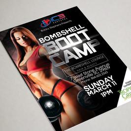 Bombshell Bootcamp Flyer