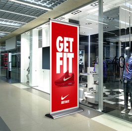 Roll Up Nike Banner 2
