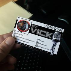 Comedian St Vick
