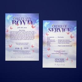 Oakley Boyd funeral pamphlet