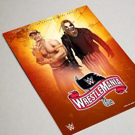 Wrestlemania 36 Poster 4