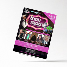 They Ready Comedy Show flyer