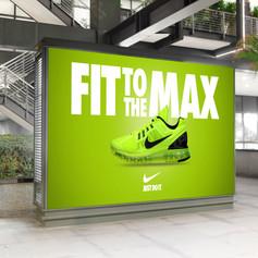 Nike Mall Indoor Billboard Digital Ad Mo