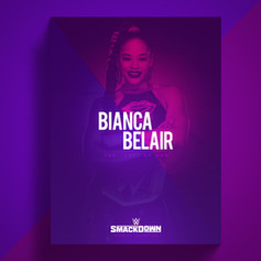 Bianca WWE flyer