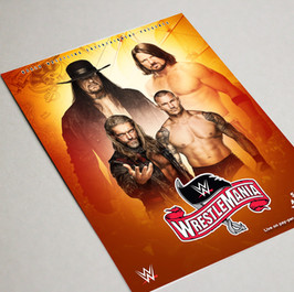 Wrestlemania 36 Poster 3