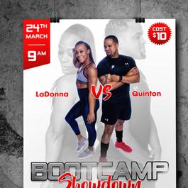 Bootcamp Showdown Flyer