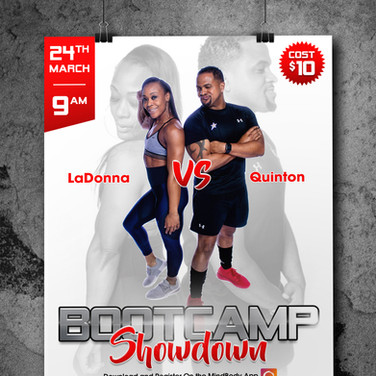 Bootcamp Showdown Flyer