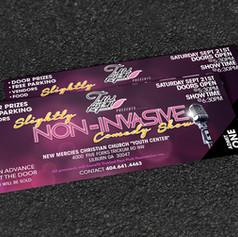 SNI Ticket design