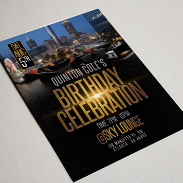 Birthday Celebration Flyer