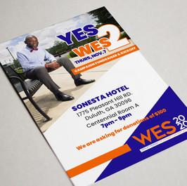 Campaign Flyer design