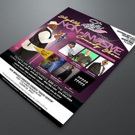 SNI Comedy Show flyer