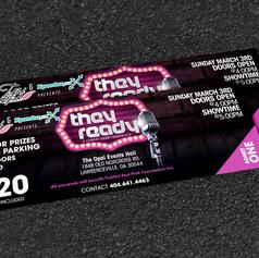 TRCS ticket design