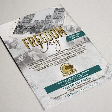 Freedom Day Flyer