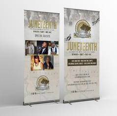 Juneteenth Banner Design