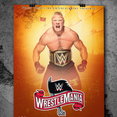 Wrestlemania 36 Poster 1