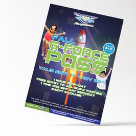 G-FORCE Pass flyer