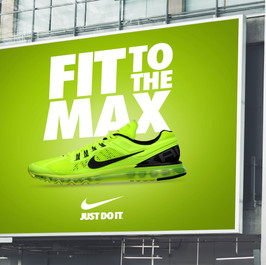 Nike Building banner