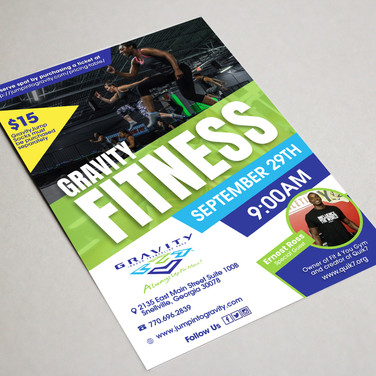 Gravity Fitness flyer