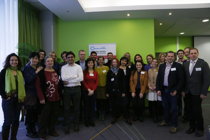 Opening Doors for Europe's Children campaign