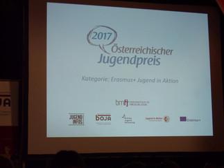 International Youth Exchange: Be the change! wird mit dem Österreichischen Jugendpreis 2017 ausgezei