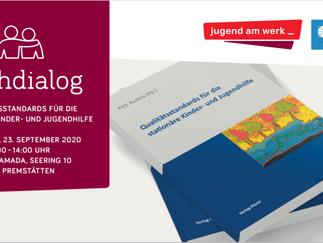 ABGESAGT: Fachdialog Qualitätsstandards, 23.9.2020