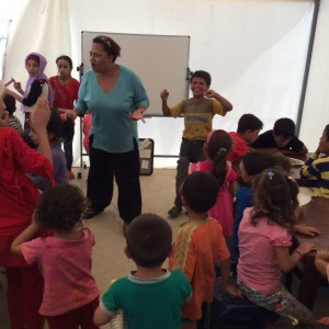Safe Park Project for Syrian refugee children in Lebanon