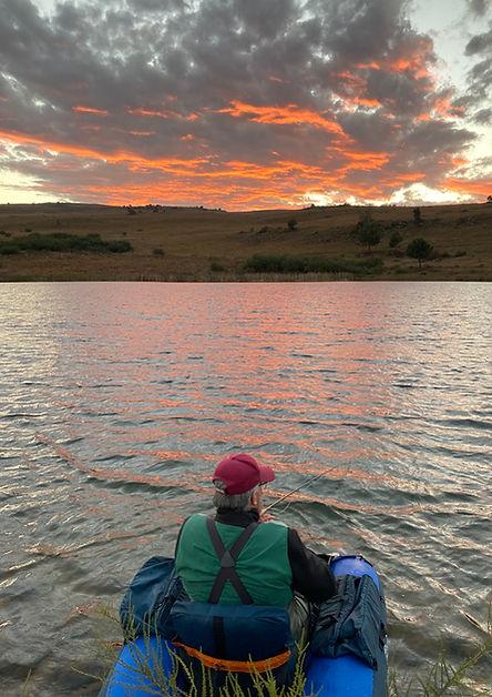 Sunset on Tumberley Dam.jpg