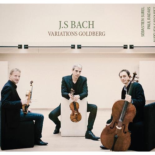 "CD ""Variations Goldberg"" J-S Bach"