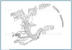Fósil Concavenator corcovatus
