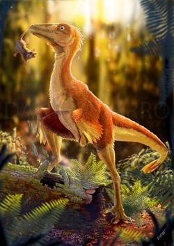stenonychosaurus en proceso