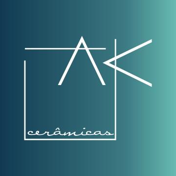 Criação de logo AK Cerâmicas