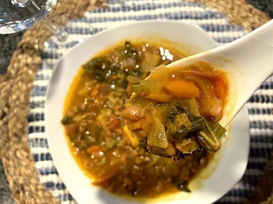 Leaky Cauldron White Bean Soup