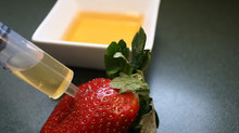Strawberries, meet tincture