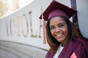 Loyola University Chicago graduation photo by Shelby Foley