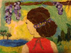 Woman at the Vineyard