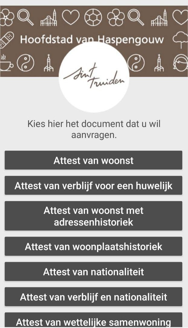 Attest/document aanvragen
