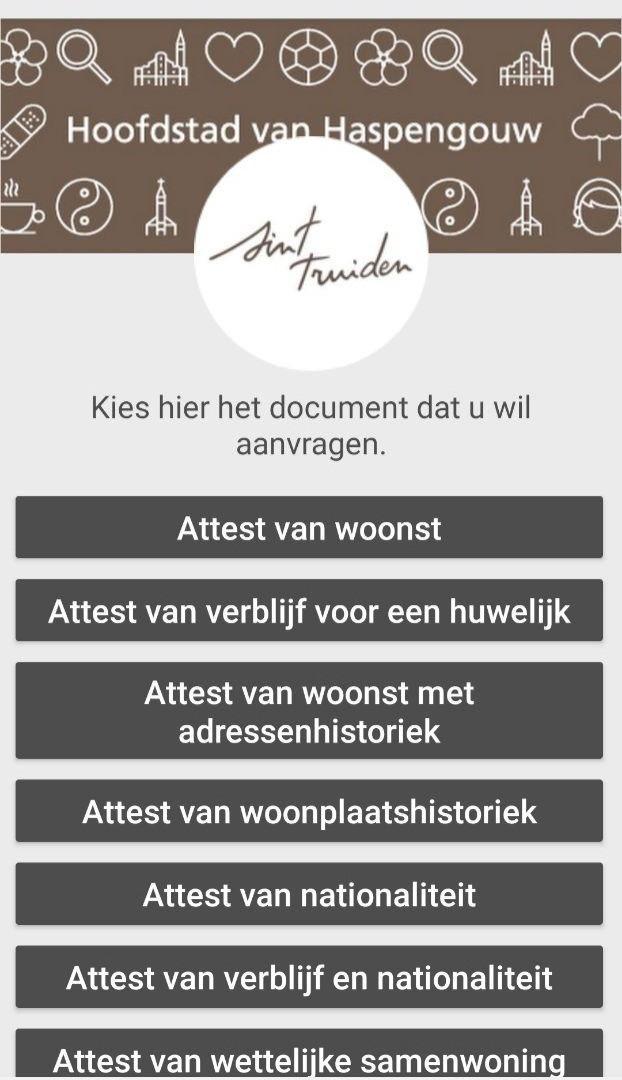 Attest/document aanvragen
