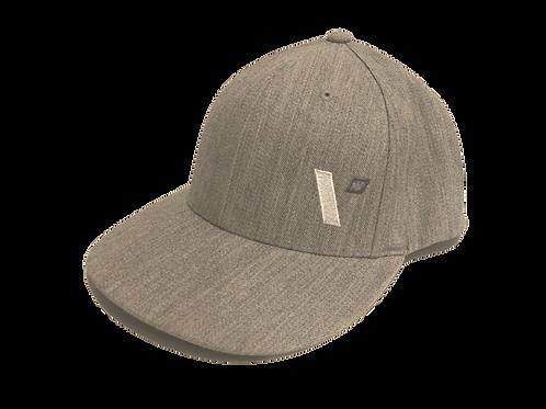 "Light Grey Heather ""V"" Hat - 400 Pts"