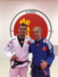 Master De La Riva and Professor Iury