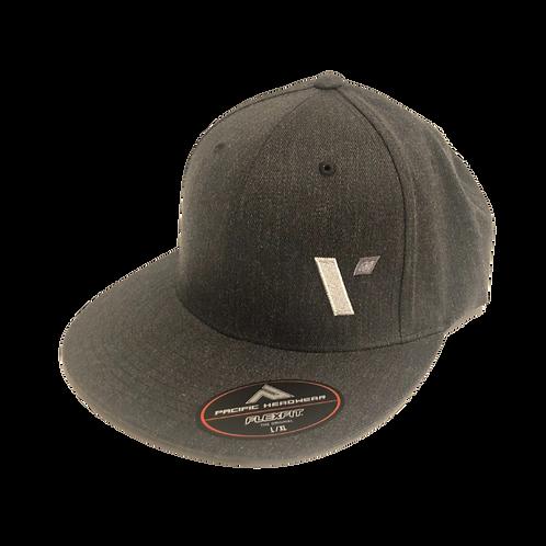 "Dark Grey Heather ""V"" Hat - 400 Pts"