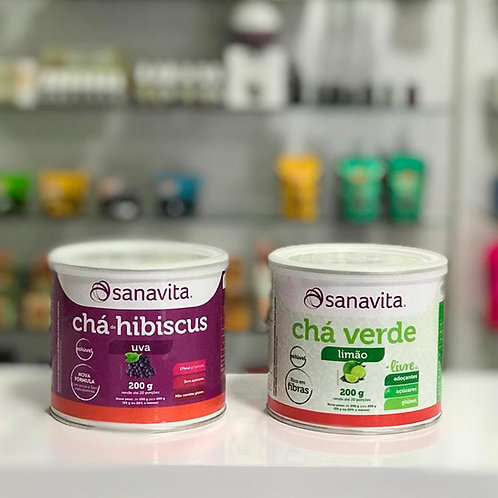 Chá solúvel Sanavita