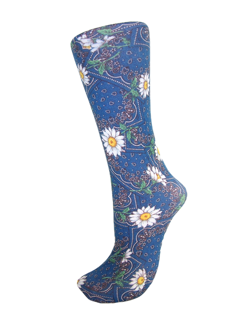 Bandana Fields - Compression Socks